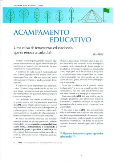 Acampamento educativo – Revista Educação